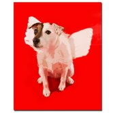 "Jack Angel by Gifty Idea Greeting Cards And Such, Canvas Art - 32"" x 26"""