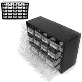 25 Compartment Durable Plastic Hardware Storage Box