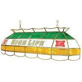 "Miller High Life Stained Glass 40"" Lighting Fixture"