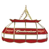 Budweiser 28&quot; Stained Glass Pool Table Lamp