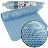 Massaging Bath Mat in Blue (Set of 2)