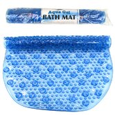 Aqua Gel Bubbled Bath Mat in Blue