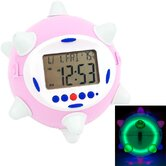Revolutionary Jump Clock in Pink