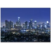 Los Angeles by Yakov Agani Canvas Art