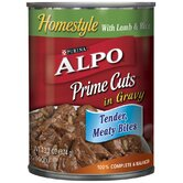 Prime Cuts Lamb and Rice Wet Dog Food