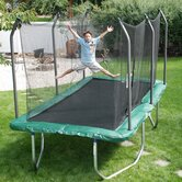 Summit 8' x 14' Rectangle Trampoline and Safety Enclosure