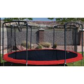 Oval Trampoline Replacement Frame Pad in Red