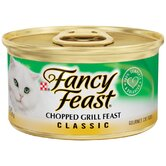 Classic Chopped Grill Feast Gourmet Chicken and Beef Wet Cat Food (3-oz can, case of 24)
