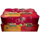 Wholesome Chicken and Beef Variety Pack (13-oz, case of 12)
