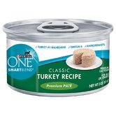Smartblend Premium Pate Classic Turkey Wet Cat Food (3-oz, case of 24)