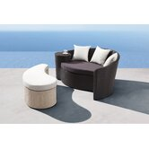 Curacao Bed and Ottoman