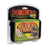 Mexican Train Number DominoesTo Go