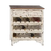 Classic Wood Wine Cabinet