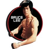 Bruce Lee Circle Chunky Magnet