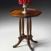 Plantation Cherry Octagon End Table