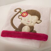 Miss Monkey Boa Blanket
