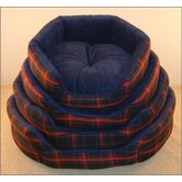 Soft Tartan Dog Bed