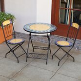 Verdana Decorative 3 Piece Bistro Set