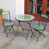Casablanca Decorative 3 Piece Bistro Set