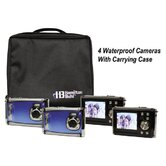 Ruggedized Four Digital Cameras Kitwith Flash and 2.4&quot; LCD, Curriculum Guide