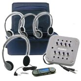 4 Person Portable MP3 Listening Center