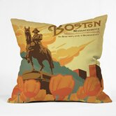 Anderson Design Group Polyester Boston Indoor/Outdoor Throw Pillow