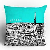 Bird Ave Athens Throw Pillow
