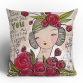 Cori Dantini Dear Sweet Girl Throw Pillow