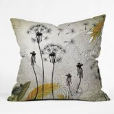 Iveta Abolina Polyester Little Dandelion Indoor/Outdoor Throw Pillow