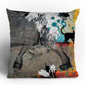 Iveta Abolina Stay Awhile Throw Pillow