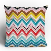 Khristian A Howell Nolita Chevrons Throw Pillow