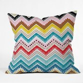 Khristian A Howell Polyester Nolita Chevrons Indoor/Outdoor Throw Pillow