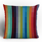 Madart Inc. City Colors Throw Pillow