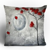 Madart Inc. Far Side Of The Moon Throw Pillow