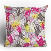 Rachael Taylor Organic Retro Leaves Throw Pillow