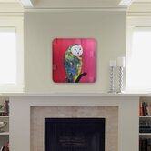 Clara Nilles Owl On Lipstick Wall Art