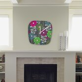 Khristian A Howell Cape Town Blooms Modern Clock