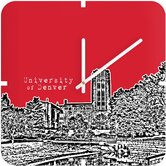 Bird Ave University of Denver Custom Clock