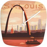 Anderson Design Group Saint Louis Clock