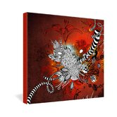 Iveta Abolina Wild Lilly Gallery Wrapped Canvas
