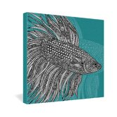 Valentina Ramos Beta Fish Gallery Wrapped Canvas
