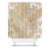 Cori Dantini Blue Floral Shower Curtain