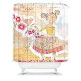 Cori Dantini The Secret To Happiness Shower Curtain