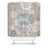 Iveta Abolina French Blue Shower Curtain