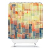 Jacqueline Maldonado Cubism Dream Shower Curtain