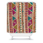 Valentina Ramos Ethnic Stripes Shower Curtain