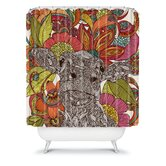 Valentina Ramos Arabella and The Flowers Shower Curtain
