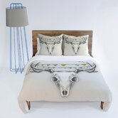 Wesley Bird Skull Duvet Cover Collection