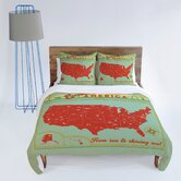Anderson Design Group Explore America Duvet Cover Collection