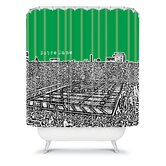Bird Ave Notre Dame Shower Curtain